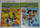 Leap Frog Leapster Game Lot - The Penguins of Madagascar (New) Toy Story 3 (New)