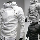 Mes Black Pullover College Style Hoodies Hooded Sweetshirts Jacket Outwear Coats