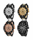 Invicta Men's Pro Diver Chrono Black Polyurethane