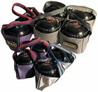 New Emsmorm Lawn Bowls Sack 2 Or 4 Bowl Top Quaility Carry Bag Assorted Colors