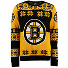 Boston Bruins Ugly NHL Christmas Sweater Big Logo Crew Neck REE SHIP Pick Size $47.95 USD on eBay