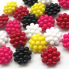 New 20/100pcs Plastic Buttons Bubble 25mm Sewing Craft T0824