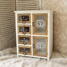 white french style wooden storage furniture unit vintage style home chic