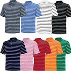 Adidas Golf 2 Color Stripe Puremotion Polo Shirt Mens New - Choose Color/Size
