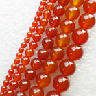 XX2547 Beautiful Red Agate 4-12mm Round Loose bead 15.5 inch Choose Size!
