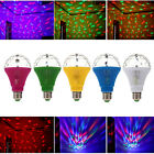 E27 LED Lighting Colorful Rotating Lamp Disco Party Bar Club Stage Effect Lights