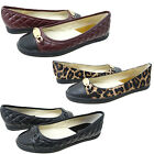 Michael Kors Lainey Ballet Slip On Casual Fashion Flats Loafers Charm Shoes