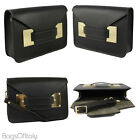 Giglio Small Ruga Italian Leather With Suede Clutch Handbag. MADE IN ITALY