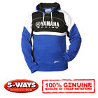 Genuine Yamaha Paddock Hoody Hoodie Blue with Logo Various Sizes New