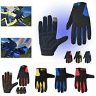 New Outdoor Cycling Bicycle Breathable Full Finger Gloves Touch Screen Glove LA