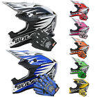 Wulfsport JUNIOR ADVANCE Motocross MX Helmet Children Kids Quad ATV + LEO Gloves