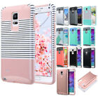 For Samsung Galaxy Note 4 N9100 Hybrid Rugged Rubber Impact Hard Case Cover Skin