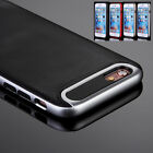 "For Apple iPhone 6S 4.7"" Black Shockproof Rugged Hybrid Rubber Hard Case Cover"