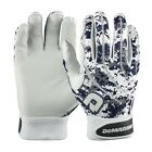 New Demarini Digi Camo Mens Adult Batting Gloves 1 Pair Navy Blue WTD6104
