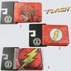 Super Hero The Flash PU Synthetic Leather Short Purse Wallet
