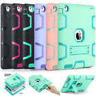 Shockproof Heavy Duty Rubber Hard Kickstand Case Cover For Apple iPad 2/3/4 Gen