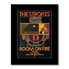 STROKES - Room on Fire Matted Mini Poster - 21x28.5cm