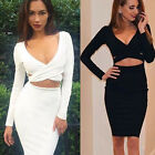 Fashion Women Bandage Bodycon Evening Sexy Dress Party Cocktail Pencil Dress
