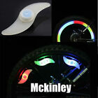 1pair Cycling Bike Bicycle Silicone Spoke Wire Tyre Light LED Lamp Hot Wheels