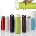 Travel Mug 350/500ml Cycling Sports Stainless Steel Water Bottle Vacuum Flask
