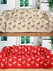 Stag Time Throw Multi Purpose Luxurious Bed Sofa 50in x 60in 70 or 90in x 100in