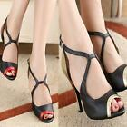 New High Heel 7.5cm Adult Female Latin Dance Shoes Modern Ballroom Dancing MSYG