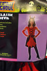 Devil Classic Red Black Dress Child Costume Hat S M L NIP