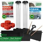 Rat Box EZ Baiter Station for Bait/Poison/Killer | With or Without Bait