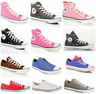 Converse all star chuck taylor tela hi lo top casual scarpe sportive in pelle