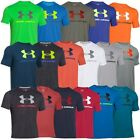 UNDER ARMOUR CHARGED COTTON SPORTY LOGO T-SHIRT SPORT CASUAL FITNESS T-SHIRT