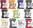 New KitchenAid Stand Mixer KF26M2X 6 Qt Pro 600 With Glass Bowl 11 Colors