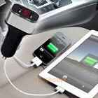 Digital LED Display Dual USB 2 Port DC Car Charger 3.1A Adapter for Moible Phone