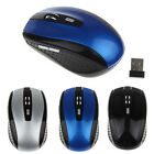 Wireless Optical 2.4GHz Mouse Mice Slim  USB Receiver for Laptop PC Computer