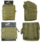 Army Combat Military Molle Travel Utility Surplus Belt Bag Pouch Desert Khaki
