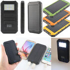 20000mAh Dual Ports External Battery Charger Ligth Solar Power Bank For Phones