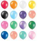 """100 x 10"""" Pearly Party Balloons Decoration Wedding Birthday Occasions"""