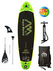 "Aqua Marina BREEZE 9'9"" Inflatable SUP Stand Up Paddle Board inc Paddle Complete"