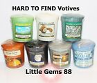 YANKEE CANDLE VOTIVES ** MORE GREAT SCENTS ** 15 HOUR CANDLE *YOU PICK