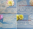 """Ivory Lace Trim 5-16 Yd Vintage 1-1/4""""-1-1/2"""" Scalloped 012IV Your Choice"""
