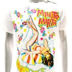 m262w Minute Mirth T-shirt L XL Tattoo Skull VTG LIMITED EDITION Sexy Lady Girl