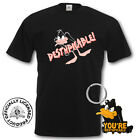 DAFFY DUCK T SHIRT & KEYRING GIFT SET RETRO TOP S M L XL MENS & LADIES RETRO TOP