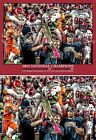 Alabama National Champions Crimson Roll Tide 2 NCAA College Football Art CHOICES