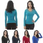 New Fashion Women Long Sleeve Embroidery Top Blouse Lace Crochet Neck Shirt