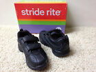 NEW BOYS STRIDE RITE Black Cooper  ATHLETIC SHOES SNEAKERS NWOB Pick 9 9.5 10.5