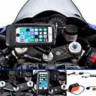 Motorcycle Fork Stem Extended Powered Mount + Tough Case for iPhone 6 6s 4.7