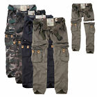 SURPLUS Raw Vintage Damen Premium Trekking Hose & Shorts in einem Cargo ZIP OFF