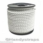 5 meter x 12mm Shock Cord Elastic Bungee Rope in Black White with Black fleck