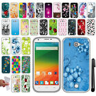 For ZTE Imperial 2 N9516 NEW TPU SILICONE Rubber SKIN Soft Case Cover + Pen