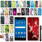 For ZTE ZMAX 2 Z958 Z955L TPU SILICONE SKIN Soft Protective Case Cover + Pen