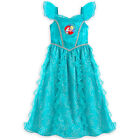 Disney Store Princess The Little Mermaid Ariel Nightgown Pajama Girl Size 5/6